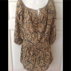 EUC Denim & Supply off the shoulder top/dress